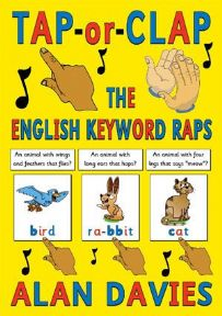 S-87 Tap or Clap the English Keyword Raps (size A5, 40-pages, for Individuals)